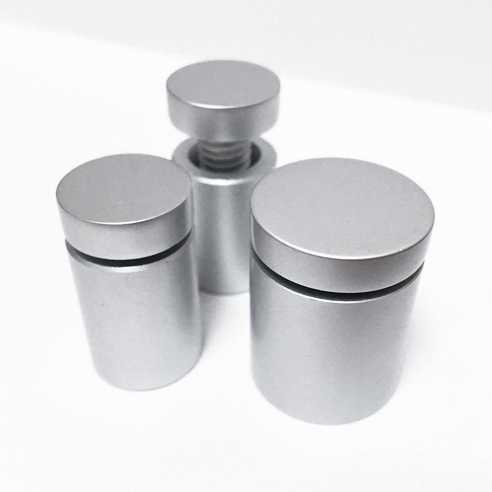 Dystans aluminiowe SATYNA (wkręcane na gwint)
